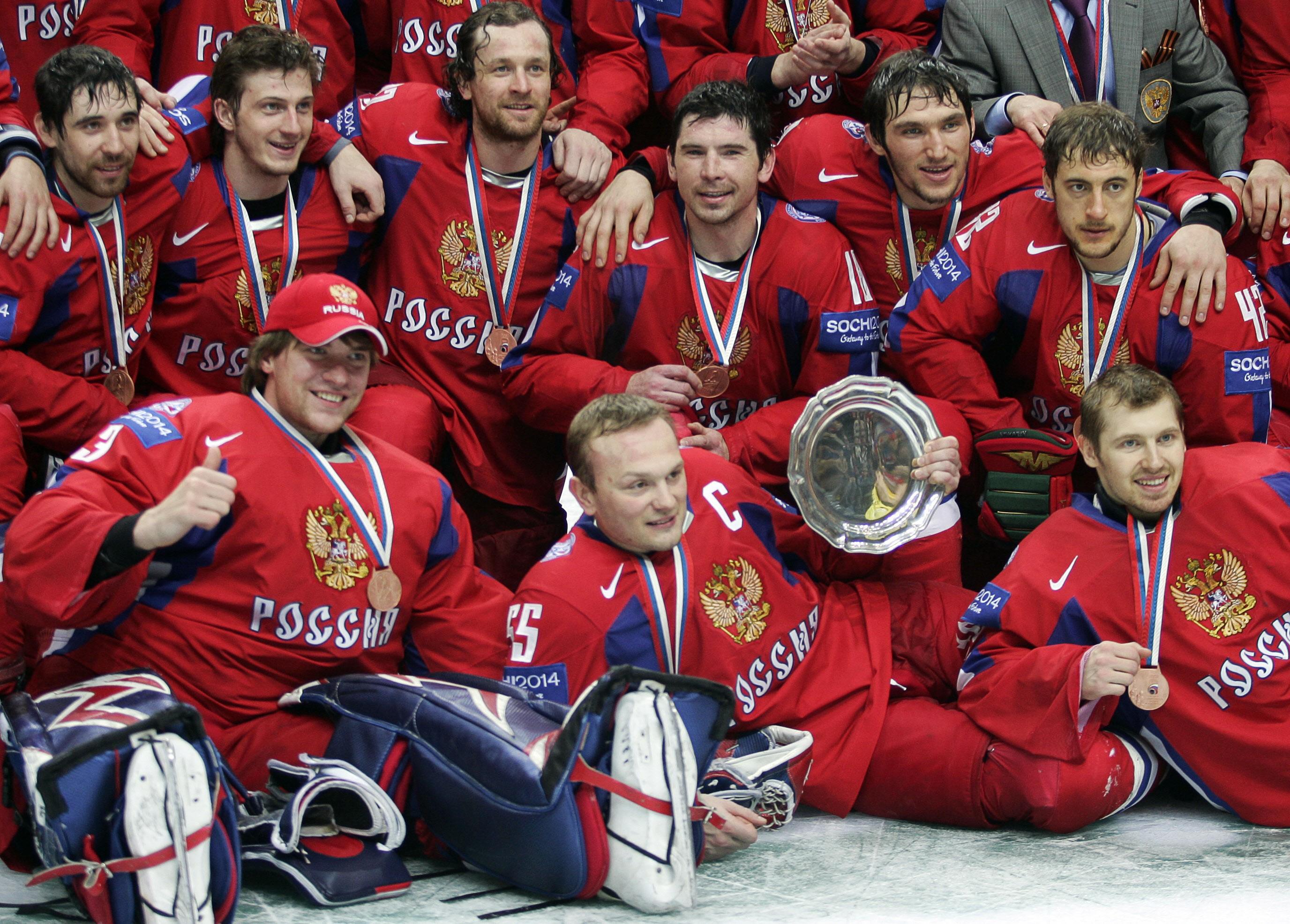 Сборная России – обладатель бронзовых медалей ЧМ-2007