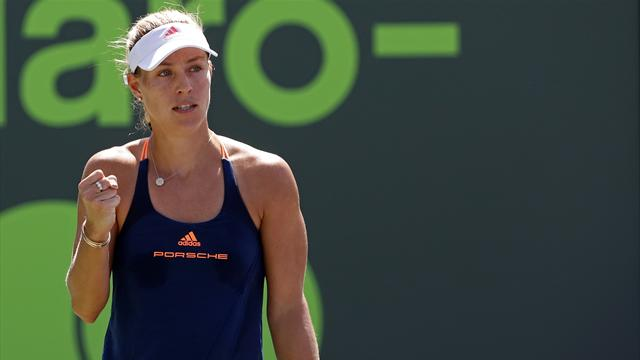 Kerber, Konta win in third round at Miami Open
