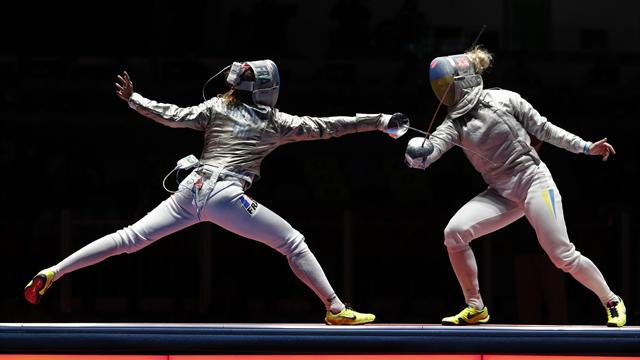 France's Brunet and Team USA win gold in Women's Sabre World Cup in Yangzhou