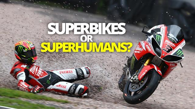 'We're not footballers!' - the thrills and spills of British Superbikes