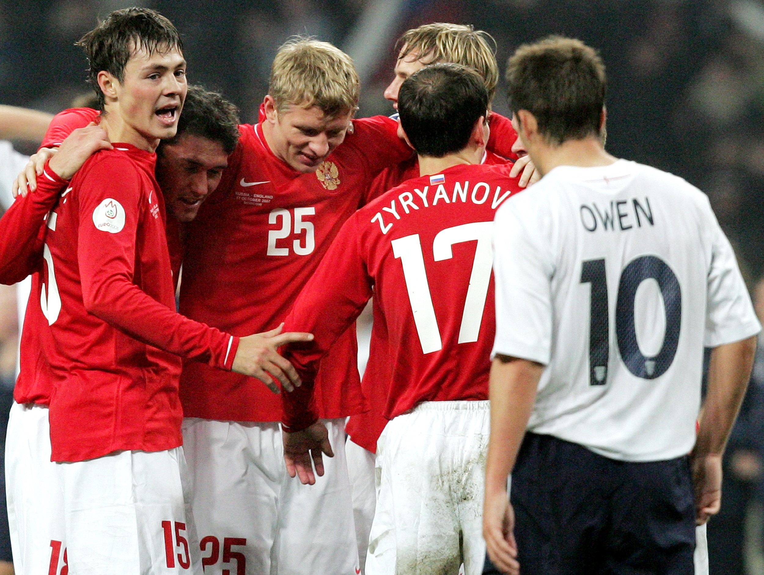 Россия – Англия, 2007