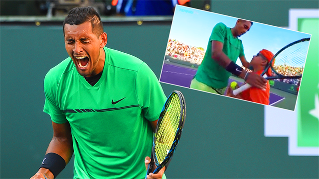 Why Kyrgios is still tennis' most unpredictable star