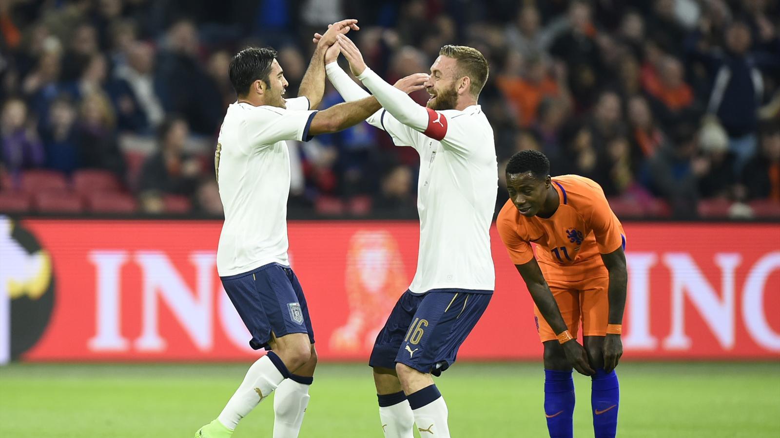 прогноз на товарищеский матч италия-нидерланды
