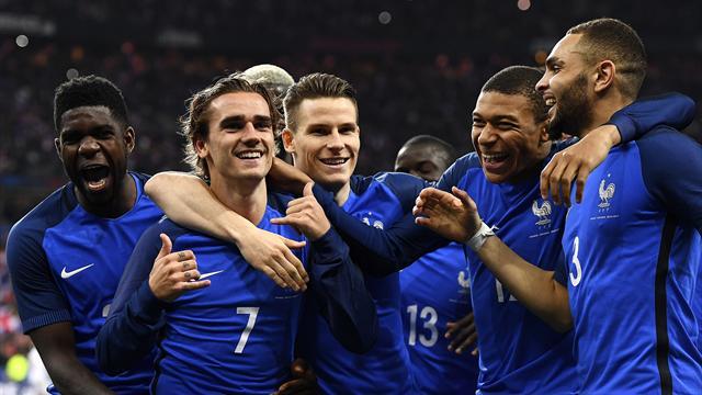 Clasificación Rusia 2018, Francia-Holanda: Trituradora gala (4-0)