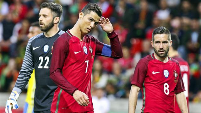 Portugal cede a Suecia tras la marcha de Cristiano (2-3) e Italia bate a una triste Holanda (1-2)