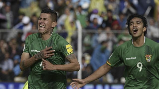 Argentina minus Messi slump to shock defeat in Bolivia