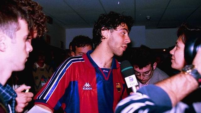 Quell'estate in cui Rui Costa vestì la maglia del Barcellona