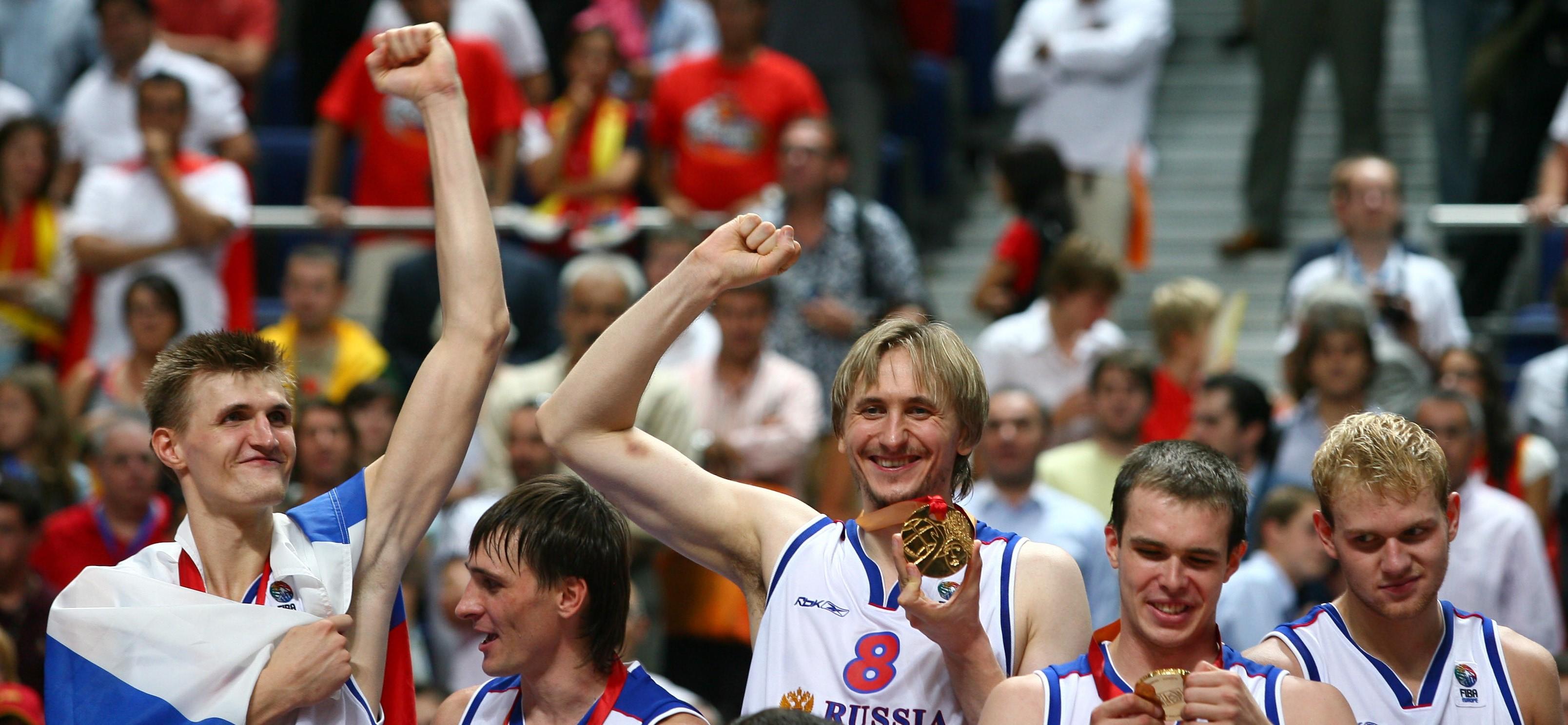 Россия, Евробаскет-2007