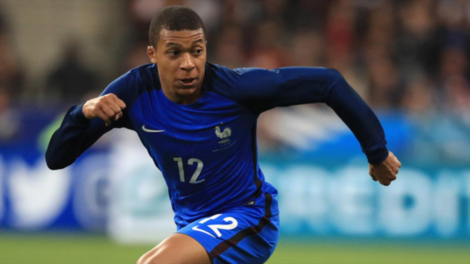 Kylian Mbappe reveals pride at France debut