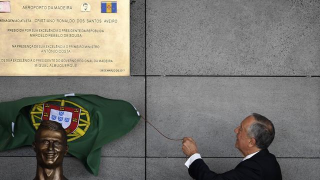 Cristiano Ronaldo a désormais l'aéroport de Madère à son nom