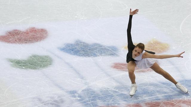 Carolina Kostner ottava dopo il corto, comanda Evgenia Medvedeva
