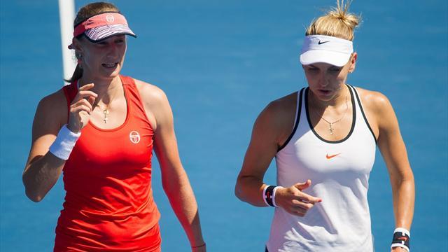 Веснина несмогла пересилить барьер 2-го круга Australian Open