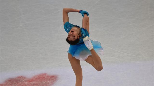 Doppio record del mondo per Evgenia Medvedeva, 6° posto per Carolina Kostner