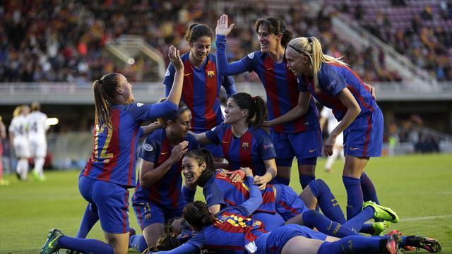 Champions femenina: El Barça hace historia como el primer equipo español en semifinales
