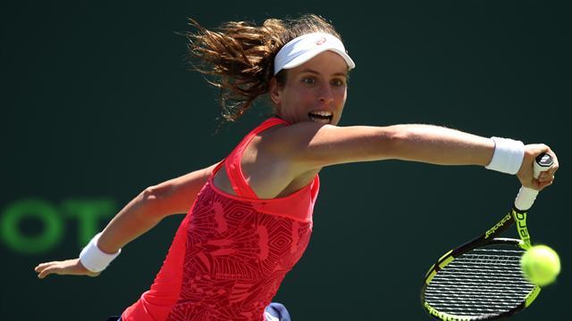 Wozniacki reaches first Miami tennis final