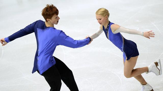 Русские фигуристы Тарасова иМорозов заняли 3-е место наЧМ