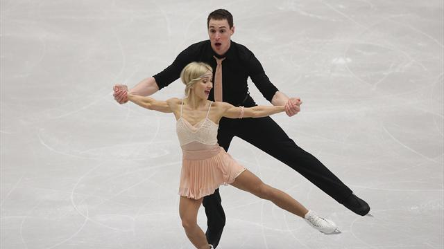 Deutsches Paar auf Medaillenkurs