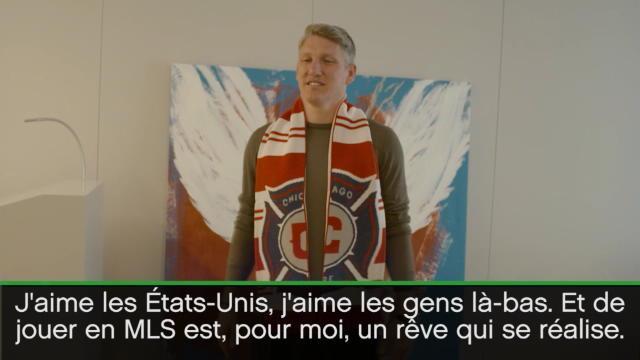 Schweinsteiger : «Jouer en MLS, c'est un rêve qui se réalise»