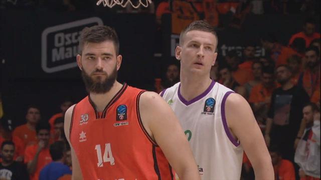 Eurocup: Final serisinde ilk maçın MVP'si Bojan Dubljevic