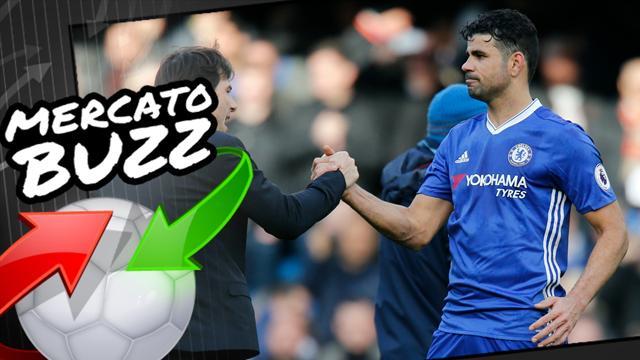 Si Diego Costa s'en va, Chelsea n'a pas une mais deux cibles éventuelles