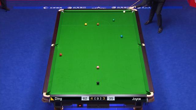 Savage fluke helps Ding Junhui beat Mark Joyce