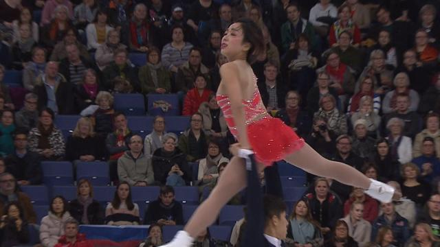 Chinese duo take gold in pair's free skating in Helsinki