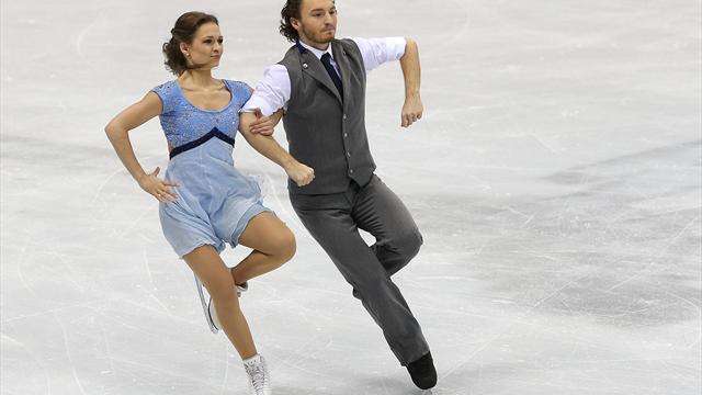Eiskunstlauf-WM: Eistänzer Lorenz/Polizoakis als 20. ins Finale