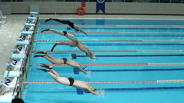 Paletli Yüzme Kulüplerarası Büyükler Türkiye Şampiyonası başladı