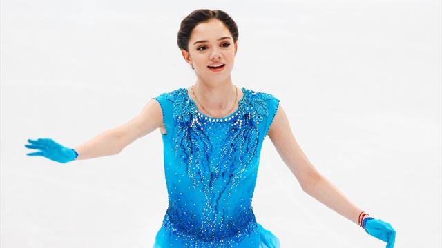 Медведева установила рекорд в короткой программе на командном чемпионате мира
