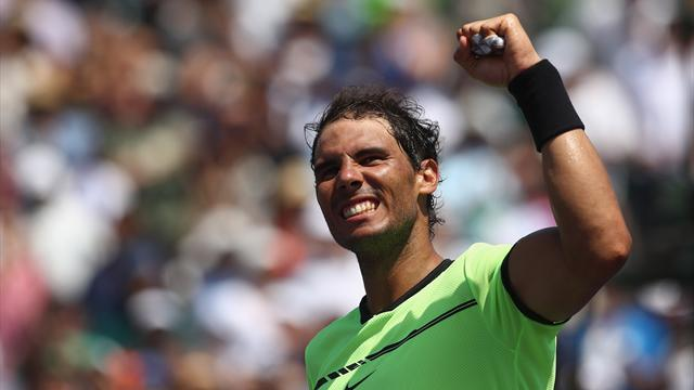 Nadal n'a laissé aucune chance à Fognini