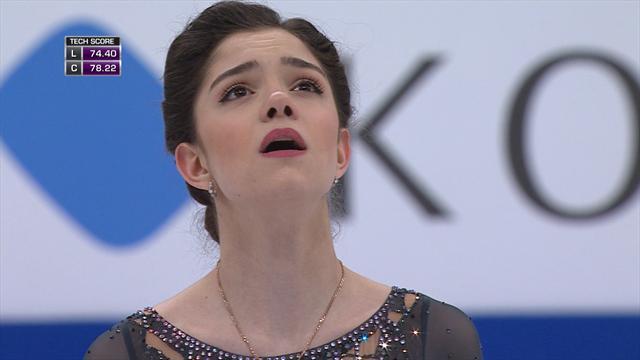Золотой прокат Медведевой на чемпионате мира