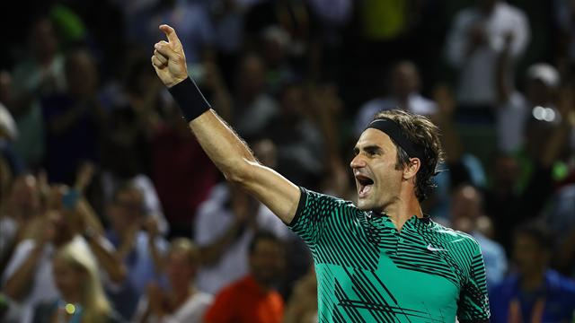 Pour retrouver Nadal, Federer a bataillé jusqu'au bout de la nuit