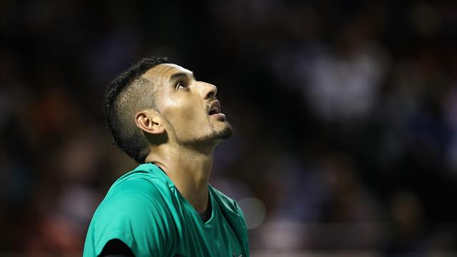 Aces wild as Kyrgios draws Isner in Davis Cup tie
