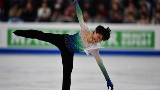 Olympiasieger Hanyu neuer Eiskunstlauf-Weltmeister