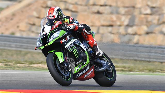 Jonathan Rea on pole in Portugal