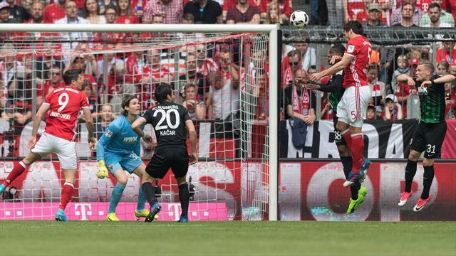 El Bayern avisa al Madrid con una escandalosa goleada ante el Augsburgo (6-0)