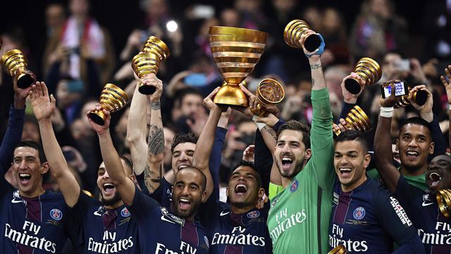 En France, le PSG rafle encore tout