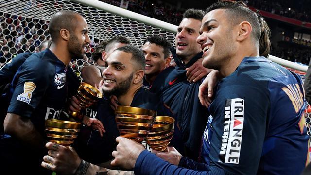 Quatrième d'affilée, septième au total : entre la Coupe de la Ligue et le PSG, c'est fusionnel