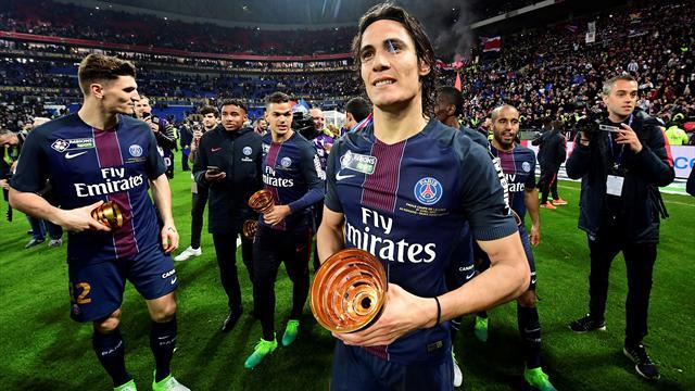 """Emery : """"Cavani est un joueur qui a faim de buts et de victoires"""""""