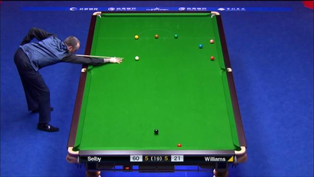 Williams pulls off stunning double against Selby