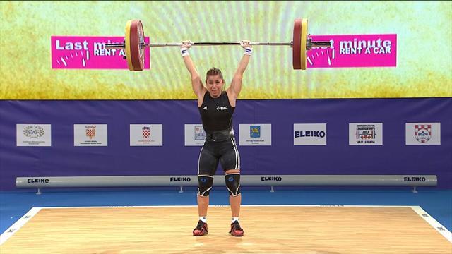 Suivez les Championnats d'Europe d'Haltérophilie à Bucarest en exclusivité sur Eurosport