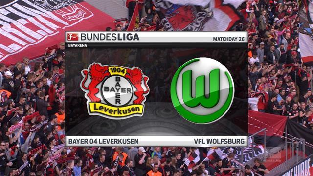 Høydepunkter: Leverkusen - Wolfsburg