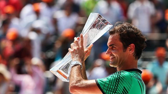 """Federer : """"C'est fou, je ne sais pas comment expliquer le truc"""""""