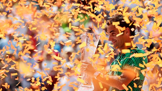 Federer beats Nadal again to win Miami Open