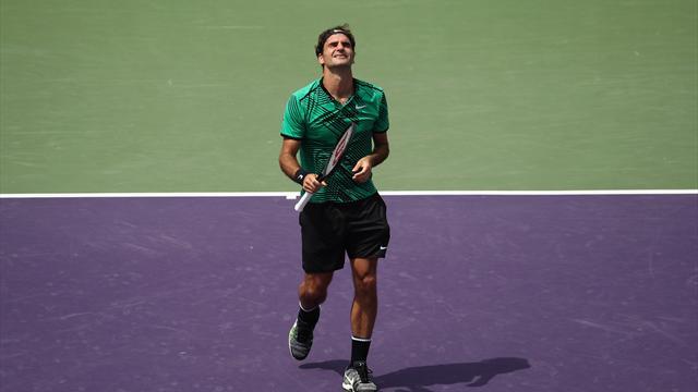 Federer poursuit sa domination face à Nadal et sa razzia