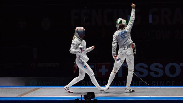 Rusia y Corea se alzan con el Grand Prix de sable en Seúl