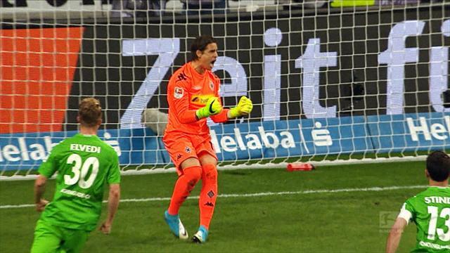 Bundesliga Topp 5 : Redninger