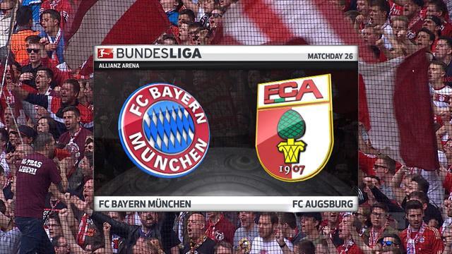 Bundesliga, Bayern-Augsburgo: Escandalosa goleada del rival del Real Madrid (6-0)