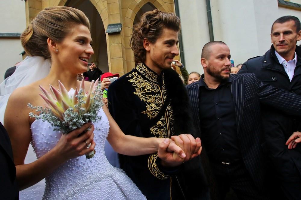 Свадьба Петера Сагана