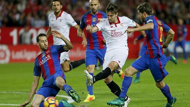 Barcelona presiona al líder Real Madrid